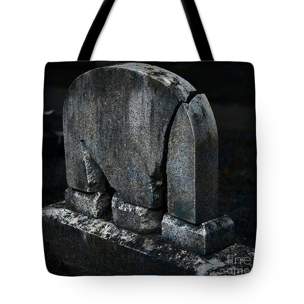 Rest In Pieces Tote Bag by John Stephens
