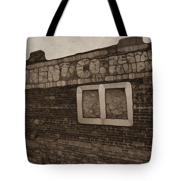 Restaurant Equipment Abstract Tote Bag by Dan Sproul