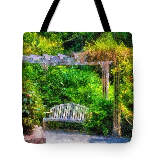 Restful Retreat Tote Bag by Lois Bryan