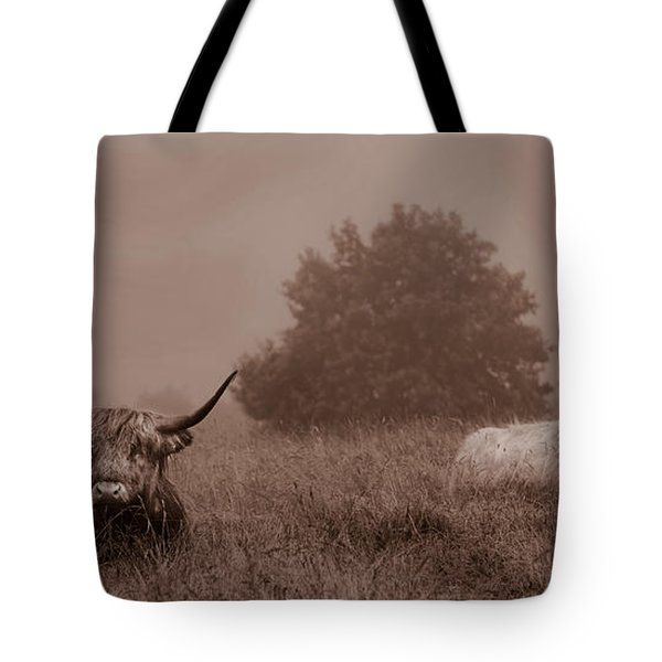 Resting Beasts Tote Bag by Linsey Williams