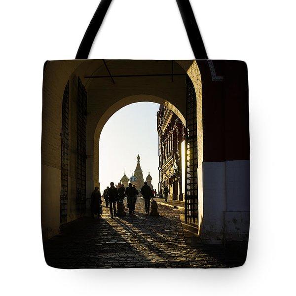 Resurrection Gate Tote Bag by Alexander Senin