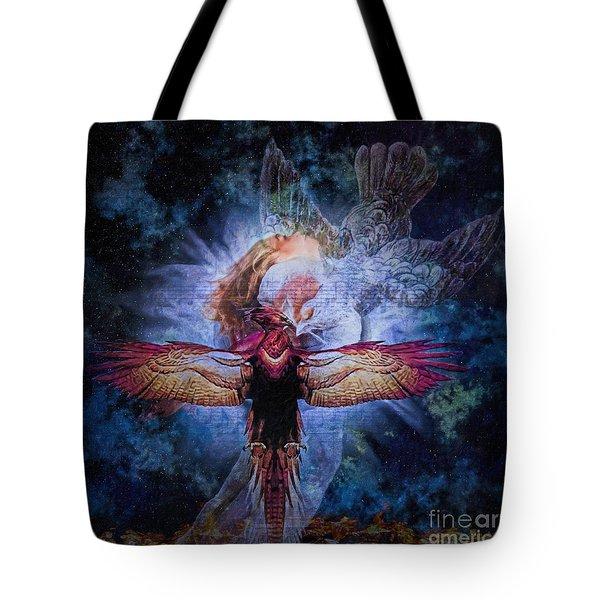 Resurrection Tote Bag by Lianne Schneider
