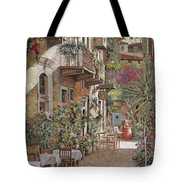 Rethimnon-crete-greece Tote Bag by Guido Borelli