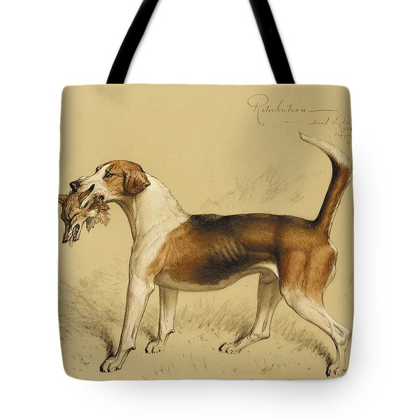 Retribution Tote Bag by Basil J Nightingale