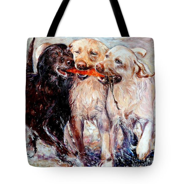 Retrieving Fools Tote Bag by Molly Poole
