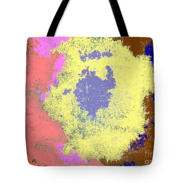 Retro Tie Dye Tote Bag by Joseph Baril