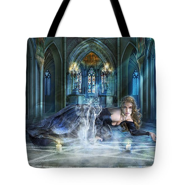 Reverence Tote Bag by Drazenka Kimpel