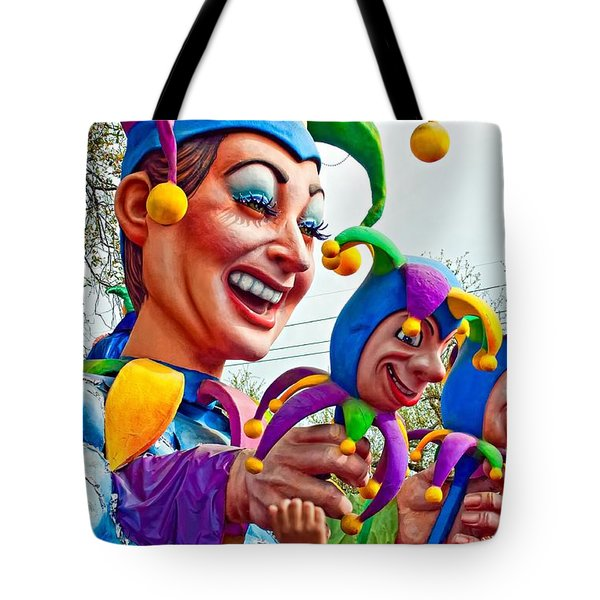 Rex Mardi Gras Parade XI Tote Bag by Steve Harrington