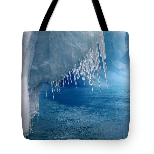 Rhapsody in Blue Tote Bag by Ginny Barklow