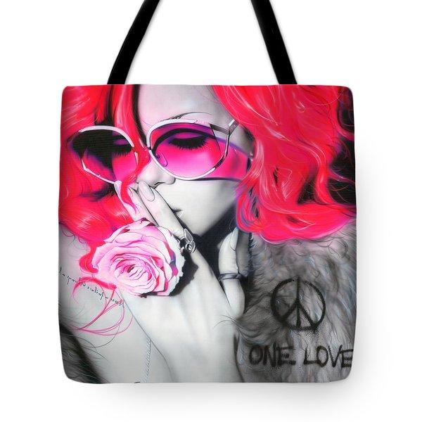 ' Rhianna ' Tote Bag by Christian Chapman Art