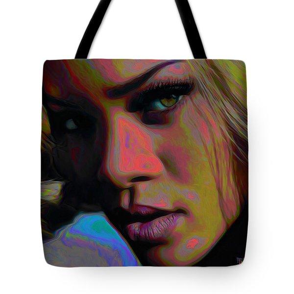 Ri Ri Tote Bag by  Fli Art