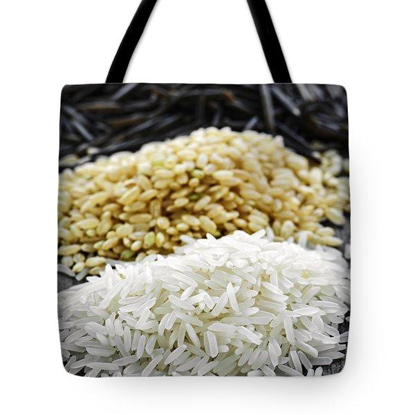 Rice Tote Bag by Elena Elisseeva
