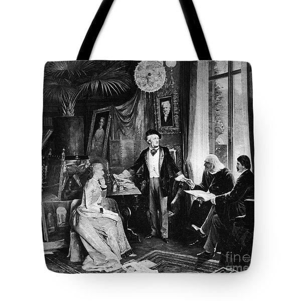 Richard Wagner Tote Bag by Granger