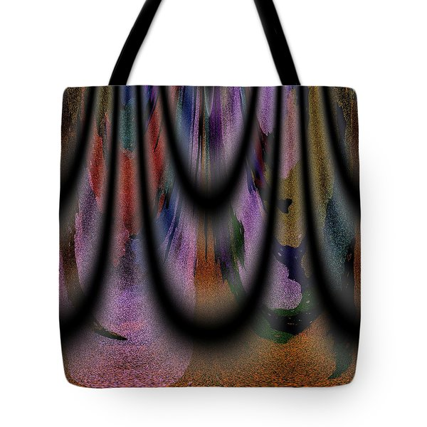 Richeness Of Curtains Tote Bag by Georgeta Blanaru