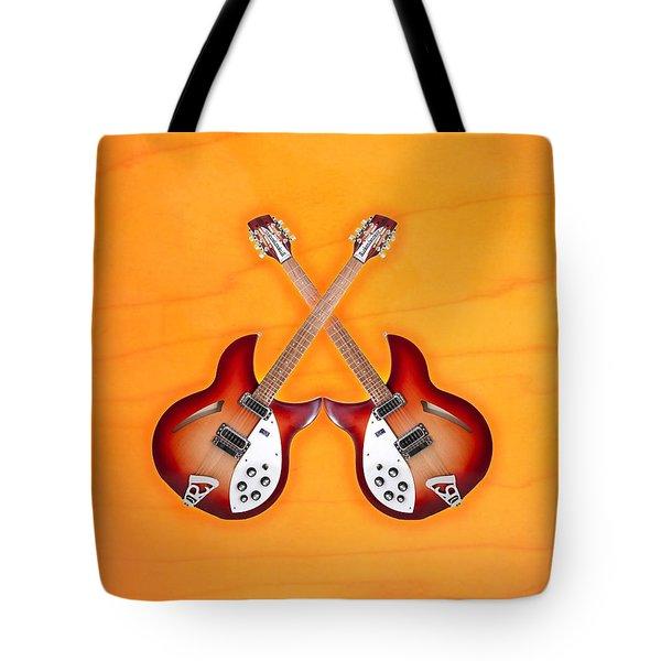 rickenbacker 12-S guitar Tote Bag by Doron Mafdoos
