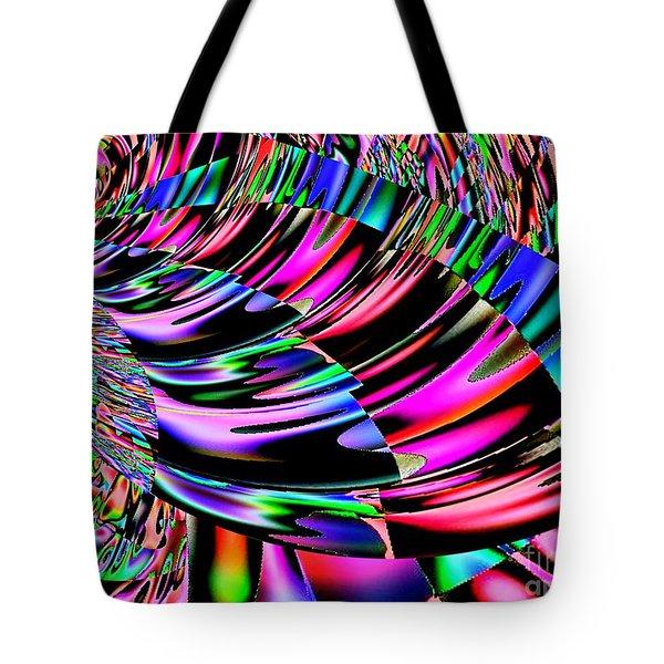 Ride The Rainbow 2 Tote Bag by Annie Zeno