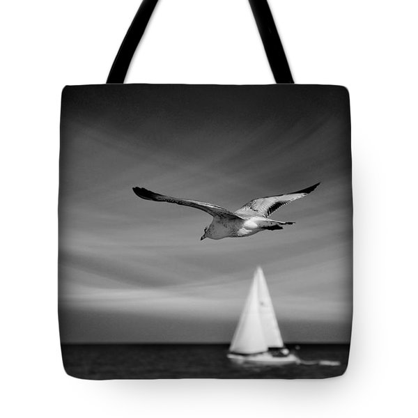 Ride The Wind Tote Bag by Laura Fasulo