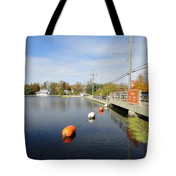 Rideau Canal Tote Bag by Betty-Anne McDonald