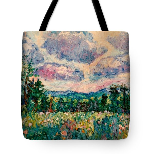 Ridge Light Tote Bag by Kendall Kessler