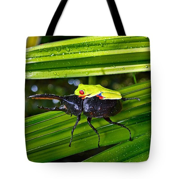 Riding Into Battle Tote Bag by Gary Keesler