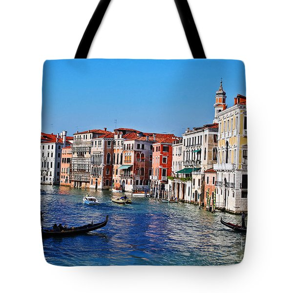 Right of Way Tote Bag by Elvis Vaughn