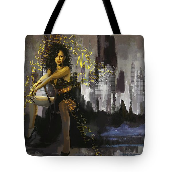 Rihanna Tote Bag by Corporate Art Task Force