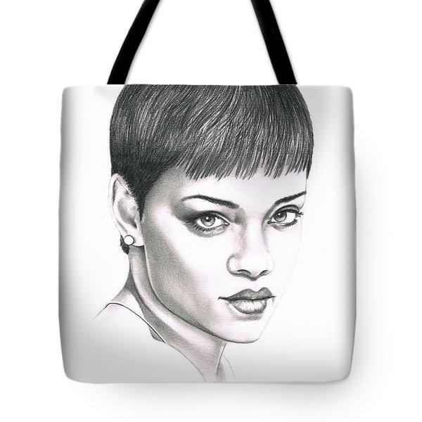 Rihanna Tote Bag by Murphy Elliott