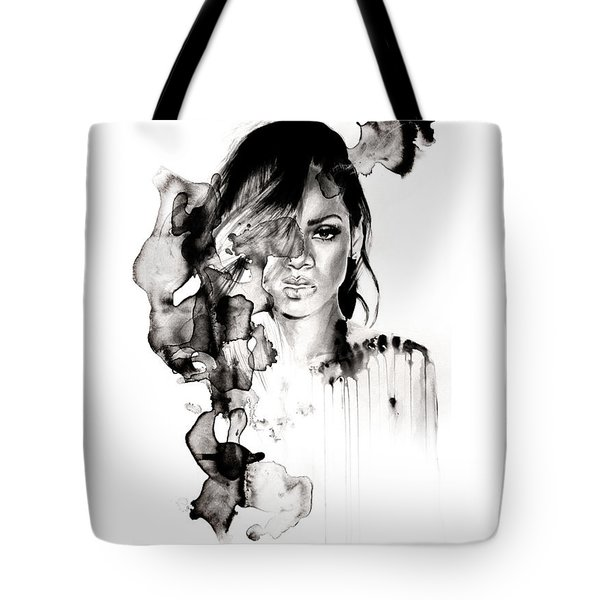 Rihanna Stay Tote Bag by Molly Picklesimer