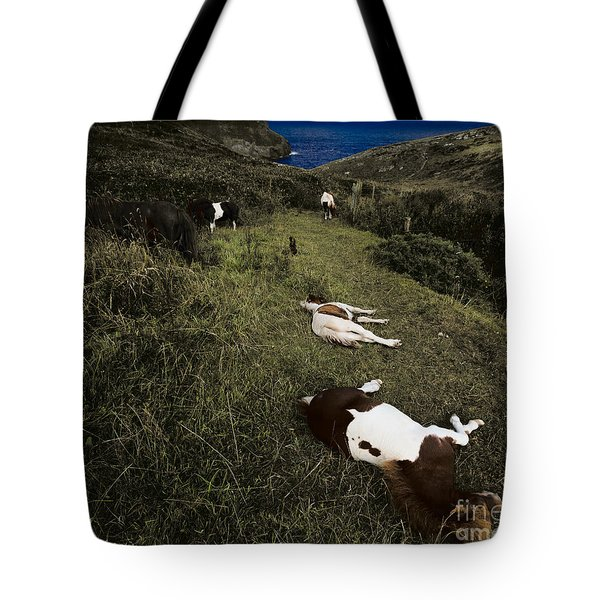 Ring A Ring O' Roses Tote Bag by Julian Cook