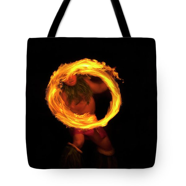 Ring of Fire Tote Bag by Mike  Dawson