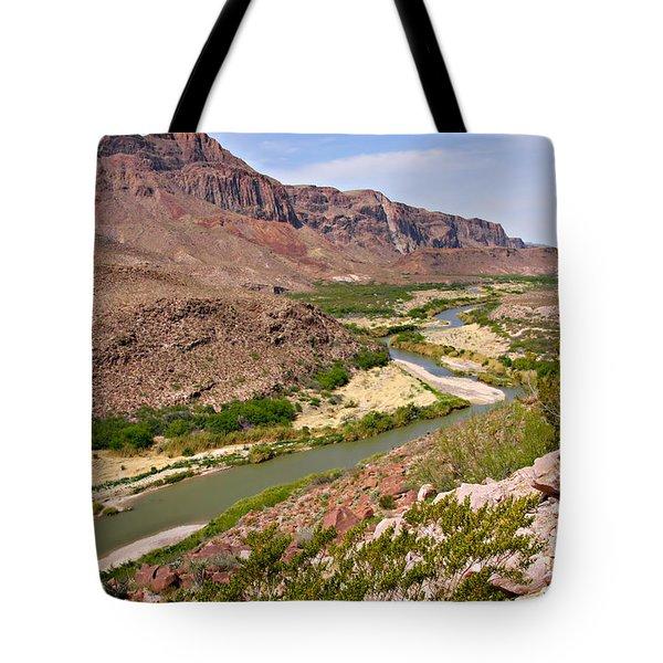 Rio Grande Tote Bag by Christine Till