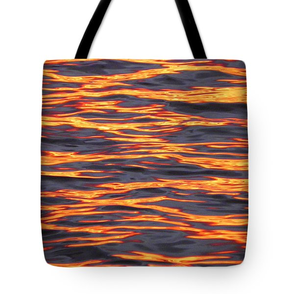 Ripple Affect Tote Bag by Karen Wiles