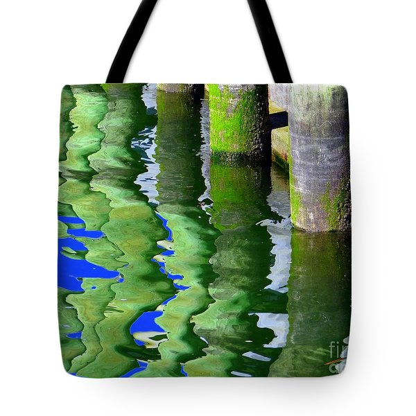 Ripple Reflections Tote Bag by Ed Weidman