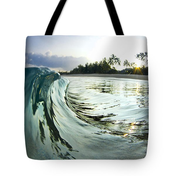 Rising Eagle Tote Bag by Sean Davey