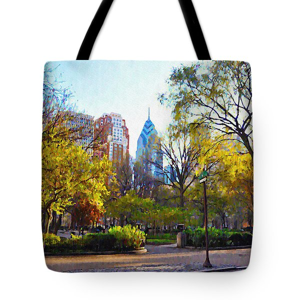 Rittenhouse Square in the Spring Tote Bag by Bill Cannon
