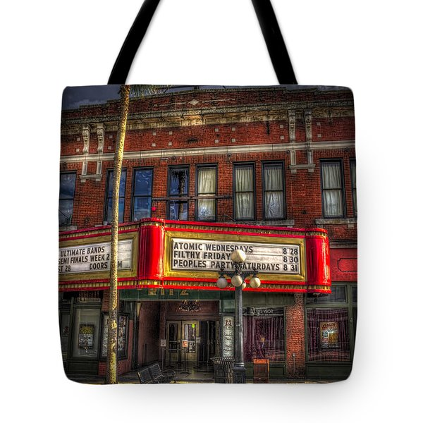 Ritz Ybor Theater Tote Bag by Marvin Spates