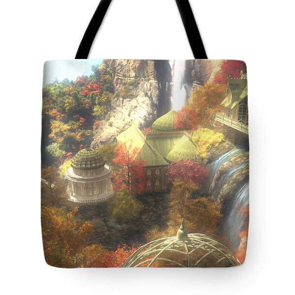 Rivendell Tote Bag by Cynthia Decker