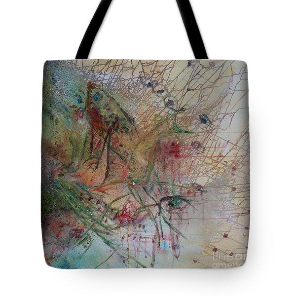 River Tote Bag by Avonelle Kelsey