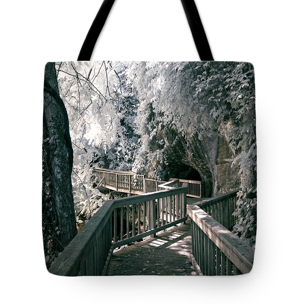 River Boardwalk Tote Bag by Paul W Faust -  Impressions of Light