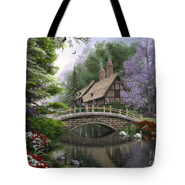 River Cottage Tote Bag by Dominic Davison