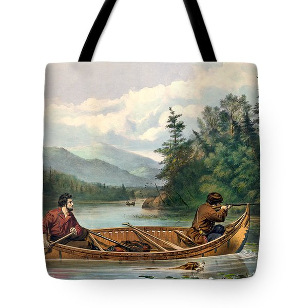 River Hunting Tote Bag by Gary Grayson