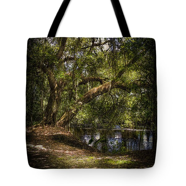 River Oak Tote Bag by Marvin Spates