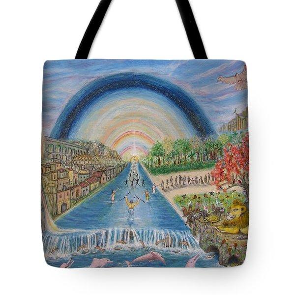 River Of Life Tote Bag by Neal David Reilly
