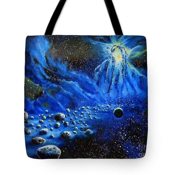 River Of Solitude Tote Bag by Murphy Elliott
