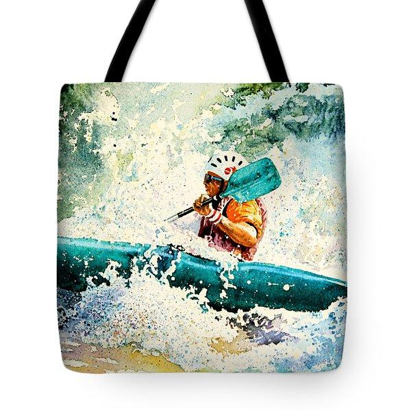 River Rocket Tote Bag by Hanne Lore Koehler