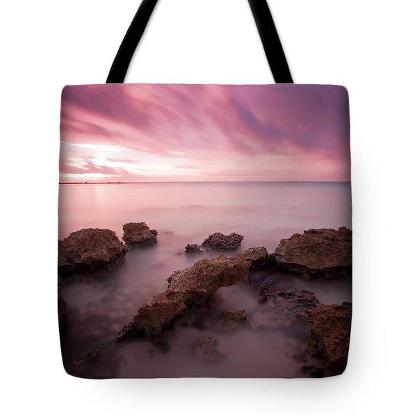 Riviera Maya Sunrise Tote Bag by Adam Romanowicz