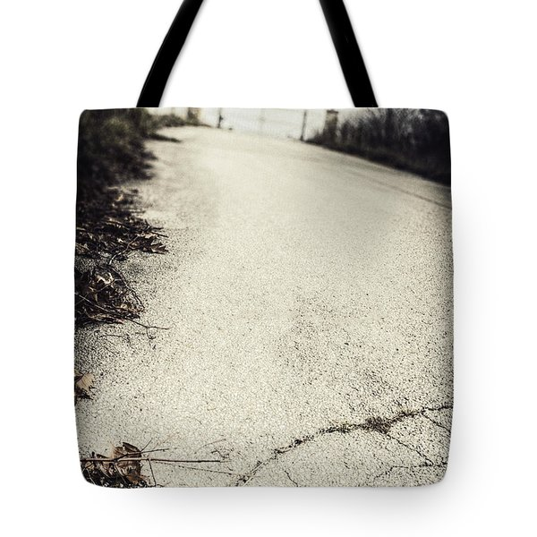 Road Less Traveled Tote Bag by Margie Hurwich