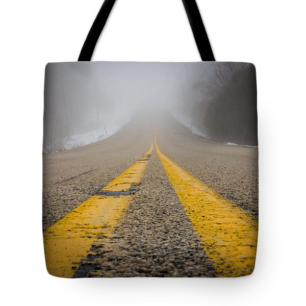 Road to Nowhere Tote Bag by Bill Pevlor
