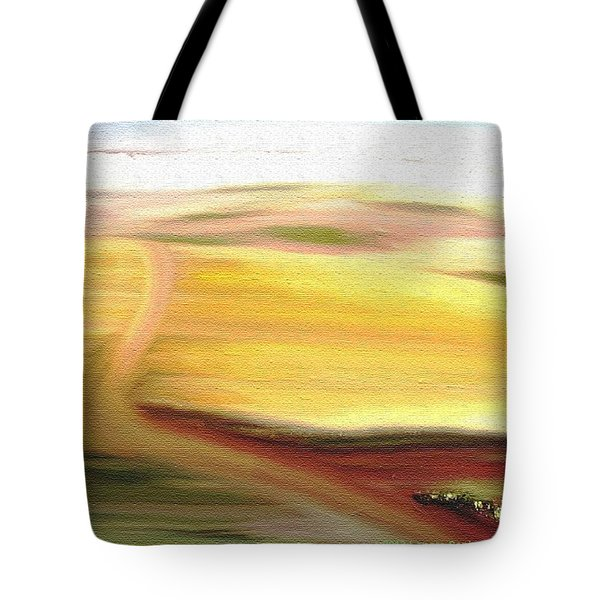 Road To Somewhere Tote Bag by Lenore Senior