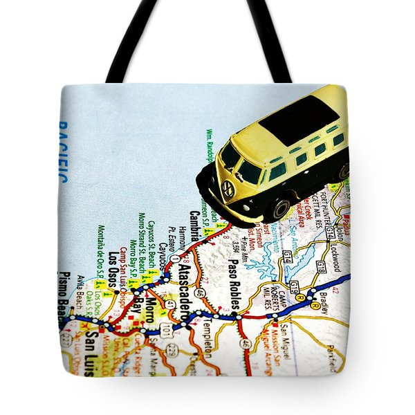 Road Trip - The Pch Tote Bag by Benjamin Yeager